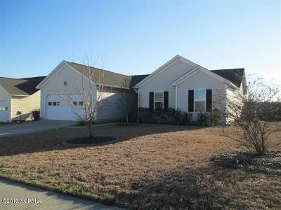 Holly Ridge, Sneads Ferry, Surf City, Topsail Beach Rental For Rent: 322 Rose Bud Lane