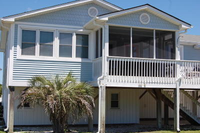 Oak Island Single Family Home For Sale: 3606 W Pelican Drive #W