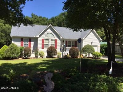 Cape Carteret Single Family Home For Sale: 105 Loma Linda Court