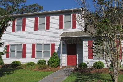 Swansboro Rental For Rent: 6 Port West Court #C