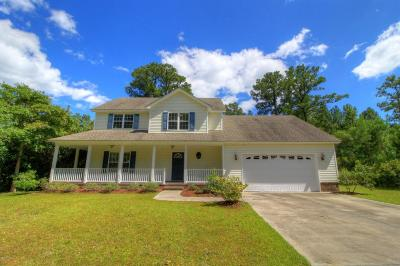 Morehead City Single Family Home For Sale: 1920 Snowy Egret Drive