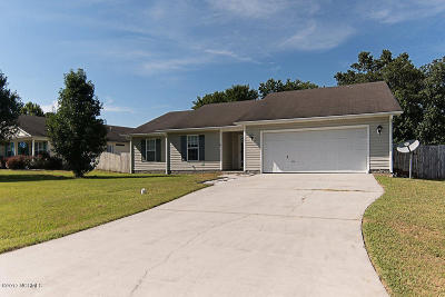 Jacksonville Single Family Home Active Contingent: 107 Pollard Drive
