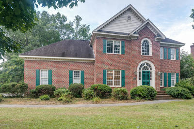 Rocky Mount Single Family Home Active Contingent: 4508 Hansford Drive