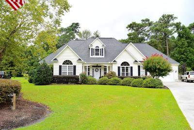 Morehead City Single Family Home For Sale: 417 Hillcrest Drive