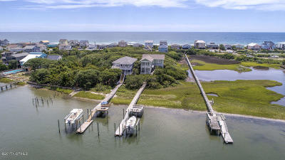 Topsail Beach Single Family Home For Sale: 828 N Anderson Boulevard #B