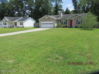 Richlands Single Family Home For Sale: 105 Pear Tree Lane