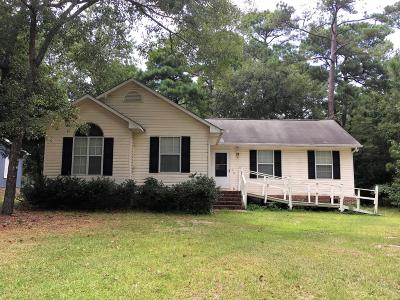 Calabash Single Family Home For Sale: 331 Ridgewood Drive NW