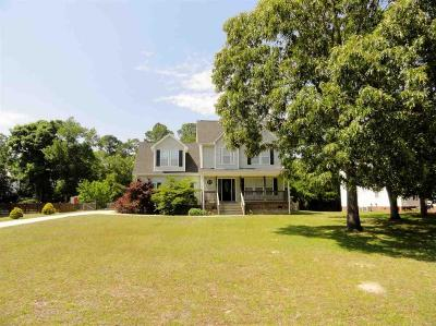 Sneads Ferry Single Family Home For Sale: 111 Bayshore Drive