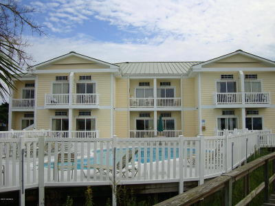 Atlantic Beach Condo/Townhouse For Sale: 602 W Fort Macon Road #247