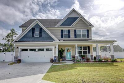 hubert Single Family Home For Sale: 709 Aria Lane