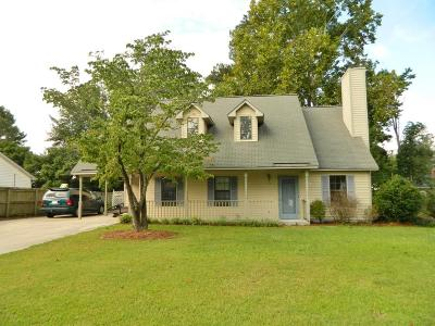 Greenville NC Single Family Home For Sale: $144,900