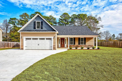 Onslow County Single Family Home For Sale: 210 Gilcrest Drive