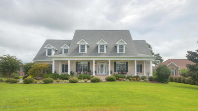 Southport Single Family Home For Sale: 3732 Lady Jane Court