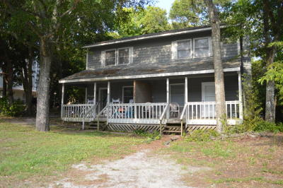 Atlantic Beach Multi Family Home For Sale: 300 A & B Lee Drive
