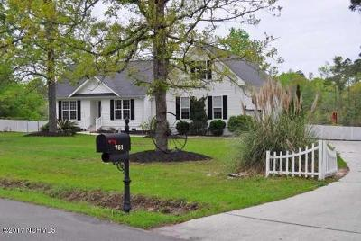 Shallotte Single Family Home For Sale: 761 Loblolly Road SW