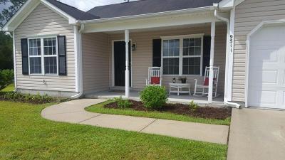 Leland Single Family Home For Sale: 9511 Huckabee Drive NE