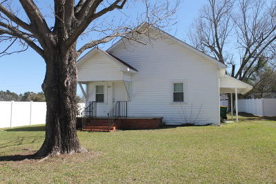 Whiteville NC Single Family Home For Sale: $80,000