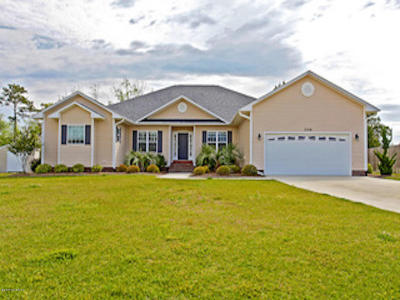 Swansboro Single Family Home For Sale: 304 Baffle Court