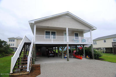 Topsail Beach Single Family Home For Sale: 1704 S Anderson Boulevard