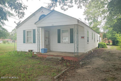 Rocky Mount NC Single Family Home For Sale: $24,900