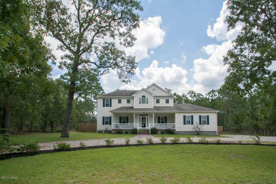 Southport Single Family Home For Sale: 2654 E Boiling Spring Road