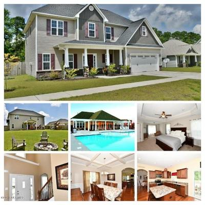 Onslow County Single Family Home For Sale: 207 Riverstone Court