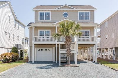 Ocean Isle Beach Single Family Home For Sale: 24 Cumberland Street