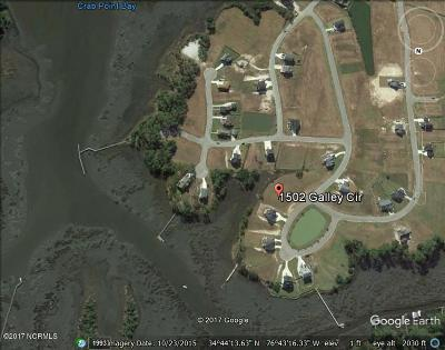 Morehead City Residential Lots & Land For Sale: 1502 Galley Circle