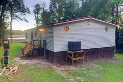 Carteret County Single Family Home For Sale: 228 Pettiford Road