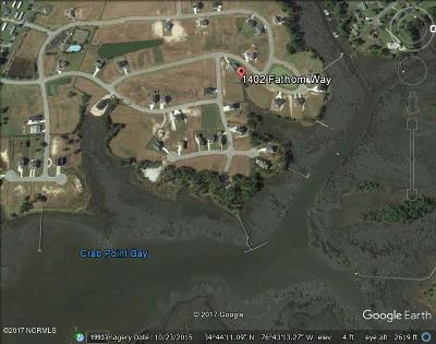 Morehead City Residential Lots & Land For Sale: 1402 Fathom Way