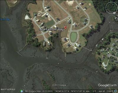 Morehead City Residential Lots & Land For Sale: 1404 Fathom Way