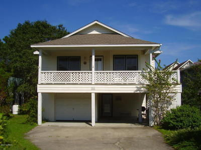 Carolina Beach, Kure Beach Single Family Home Active Contingent: 922 Searidge Lane