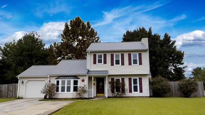 Onslow County Single Family Home For Sale: 127 Sidesaddle Lane