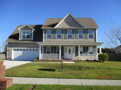 Onslow County Single Family Home For Sale: 110 Newhan Lane