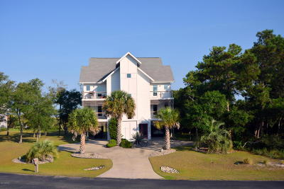 Harkers Island NC Single Family Home For Sale: $799,000