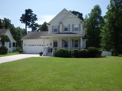 Swansboro Single Family Home For Sale: 223 Bluewater Cove