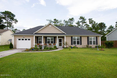 Maple Hill Single Family Home For Sale: 119 Boysenberry Fields Road