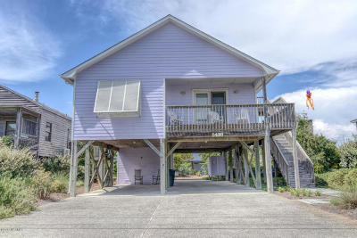 Topsail Beach Single Family Home For Sale: 1416 S Anderson Boulevard