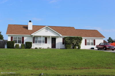 Onslow County Single Family Home For Sale: 133 Parnell Road
