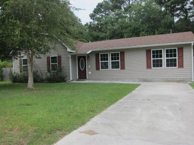 Jacksonville Single Family Home For Sale: 537 Oci Drive