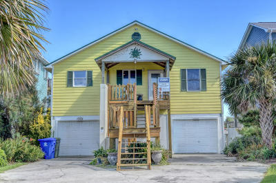 North Topsail Beach, Surf City (onslow) Single Family Home For Sale: 3760 Island Drive