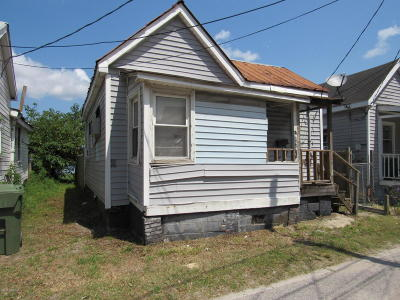 Wilmington Single Family Home For Sale: 809 Russell Alley