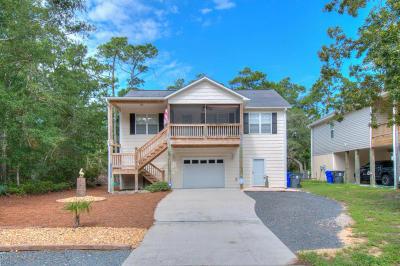 Oak Island Single Family Home For Sale: 107 NW 23rd Street