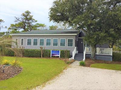 Harkers Island Single Family Home For Sale: 153 Fulford Drive