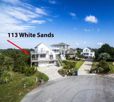 Emerald Isle Single Family Home For Sale: 113 White Sands