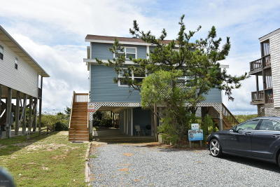 Holden Beach Single Family Home For Sale: 423 Ocean Boulevard W #A