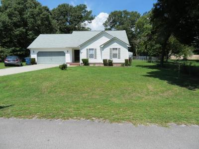 Richlands Single Family Home For Sale: 100 Chappell Creek Drive