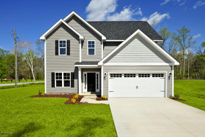 Hubert Single Family Home For Sale: L19 Summer Rest Trail