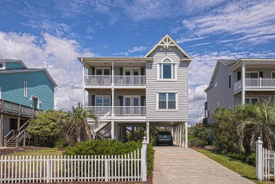 Holden Beach Single Family Home For Sale: 710 Ocean Boulevard W
