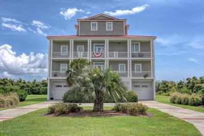 North Topsail Beach, Surf City, Topsail Beach Single Family Home For Sale: 7 Sailview Drive